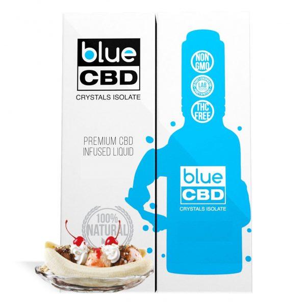 Banana Split Flavor Blue CBD Crystal Isolate - My CBD Mall