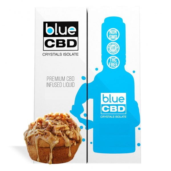 Apple Muffin Flavor Blue CBD Crystal Isolate - My CBD Mall