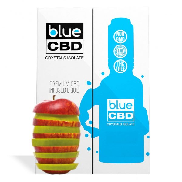 Apple Flavor Blue CBD Crystal Isolate - My CBD Mall