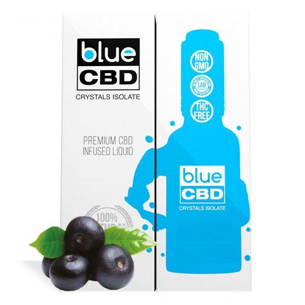 Acai Berry Flavor Blue CBD Crystal Isolate - My CBD Mall