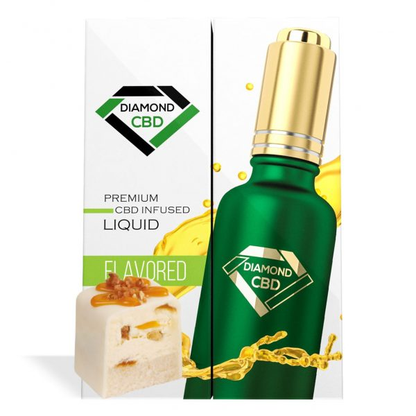 Pralines & Cream Flavor Diamond CBD Oil - My CBD Mall