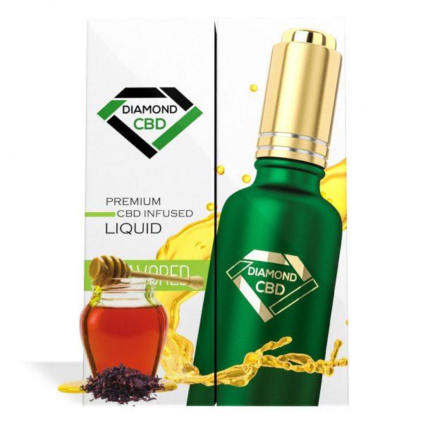 Black Honey Tobacco Flavor Diamond CBD Oil - My CBD Mall