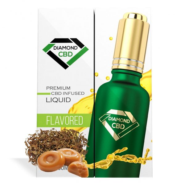 Tobacco Caramel Flavor Diamond CBD Oil - My CBD Mall
