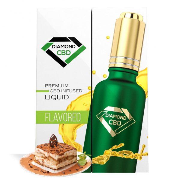Tiramisu Flavor Diamond CBD Oil - My CBD Mall