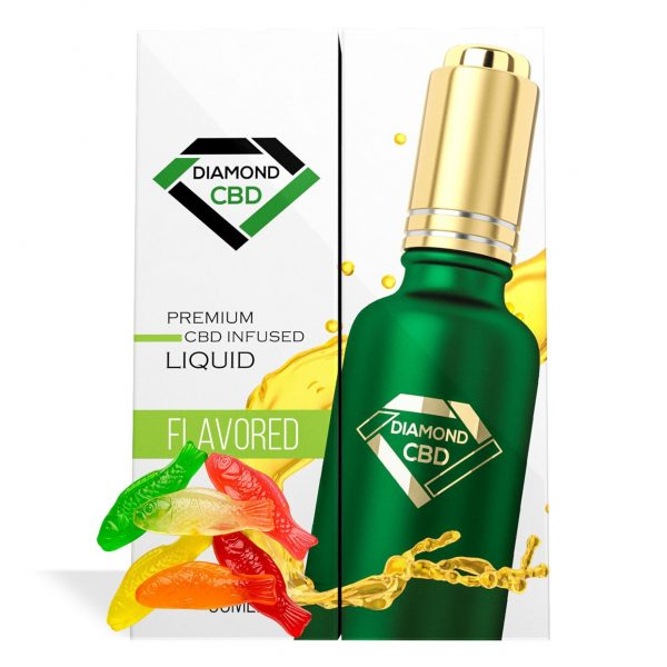 Swedish Fish Flavor Diamond CBD Oil - My CBD Mall