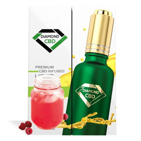 Raspberry Lemonade Flavor Diamond CBD Oil - My CBD Mall