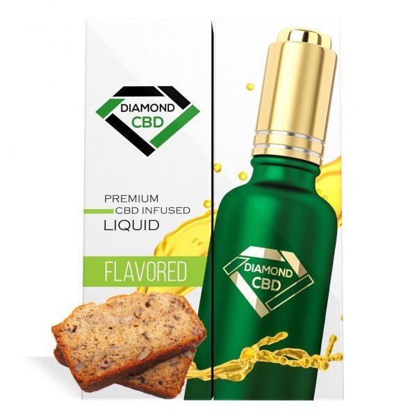 Banana Nut Bread Flavor Diamond CBD Oil - My CBD Mall