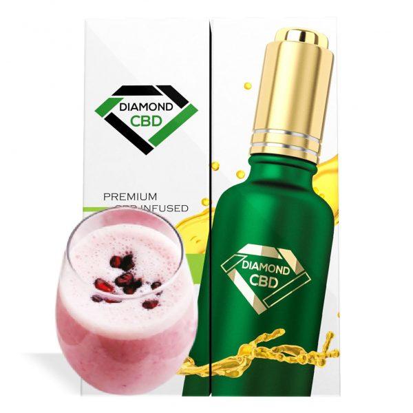 Black Pomegranate Yogurt Flavor Diamond CBD Oil - My CBD Mall
