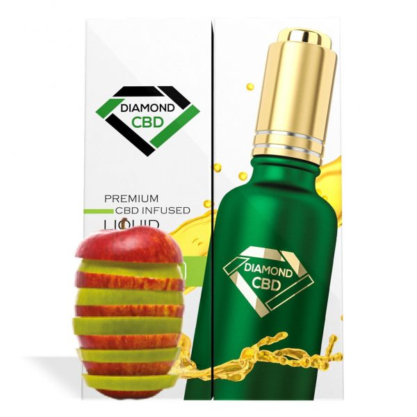 Apple Flavor Diamond CBD Oil - My CBD Mall