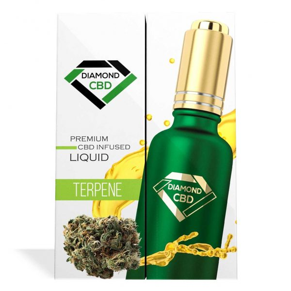 Agent Orange Terpenes Diamond CBD Oil - My CBD Mall