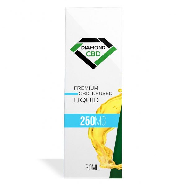 Unflavored Diamond CBD Oil 250MG - My CBD Mall