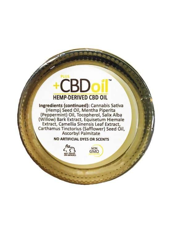 PlusCBD Oil – Hemp Balm 1.3oz (50-100mg CBD) - My CBD Mall