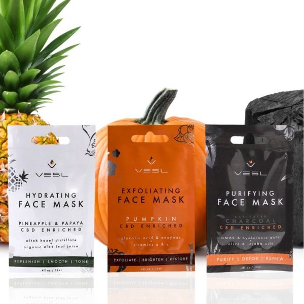 VESL CBD FACE MASK BUNDLE PACK - My CBD Mall
