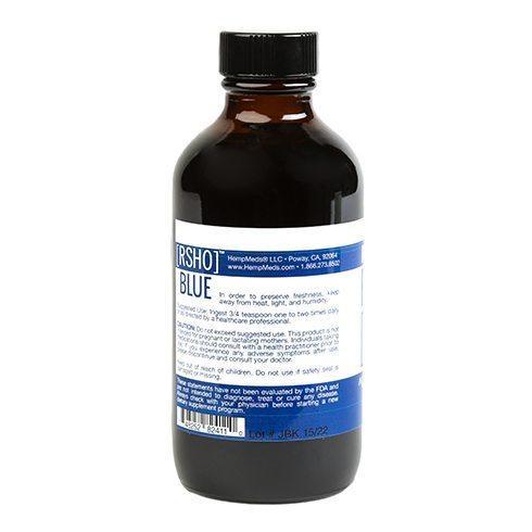 Blue Label CBD Liquid Oil – 1000mg   4oz - My CBD Mall