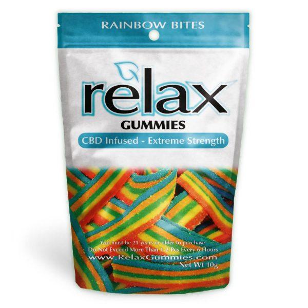 Relax Gummies - CBD Infused Rainbow Bites [Edible Candy] 200mg - My CBD Mall