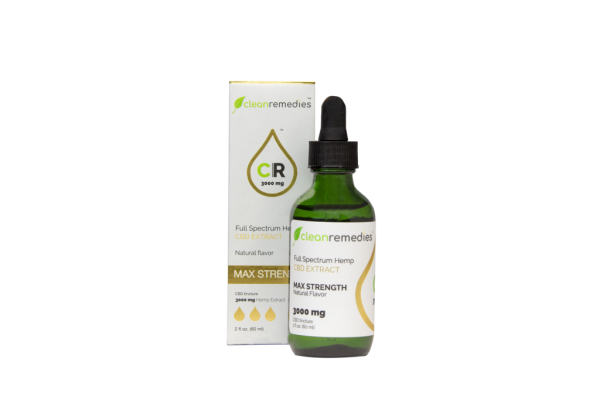 3000mg Max Strength Full Spectrum Hemp CBD Extract - My CBD Mall