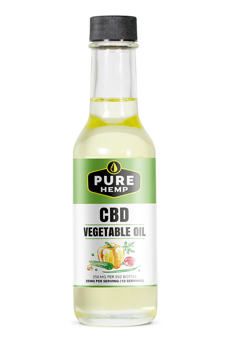 Vegetable Oil - 250mg - My CBD Mall