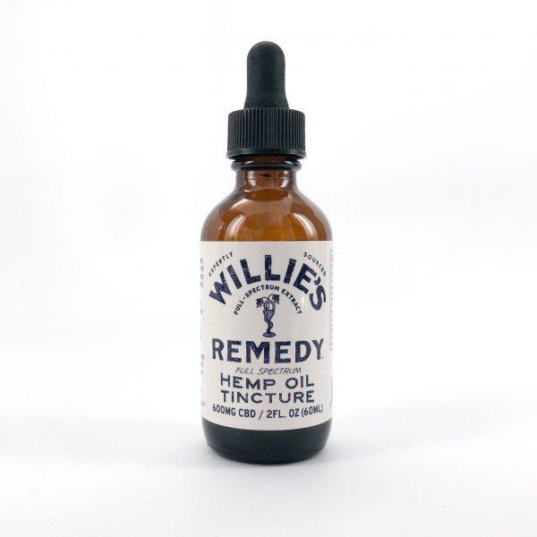 Willie's Remedy Full Spectrum Hemp Oil 600MG, CBD, 2 Fl. Oz. (10mg) - My CBD Mall
