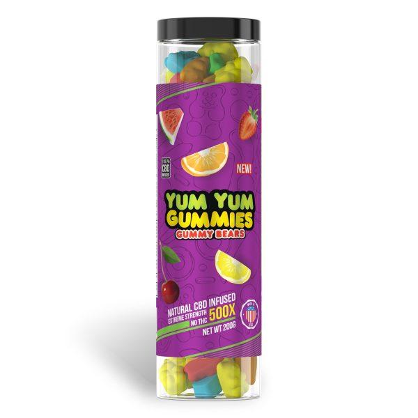 Yum Yum Gummies 500x - CBD Infused [Edible Candy] - My CBD Mall