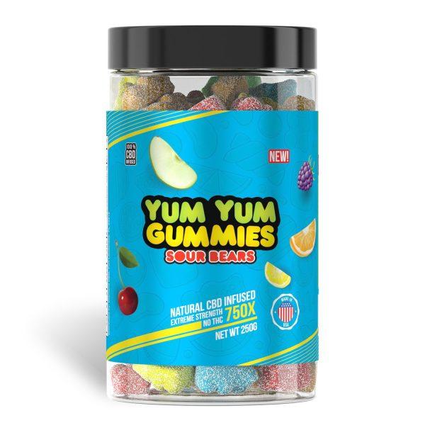 Yum Yum Gummies 750x - CBD Infused Gummies [Edible Candy] - My CBD Mall