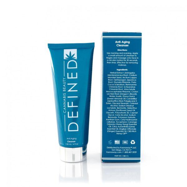 Anti-Aging CBD Facial Cleanser - My CBD Mall