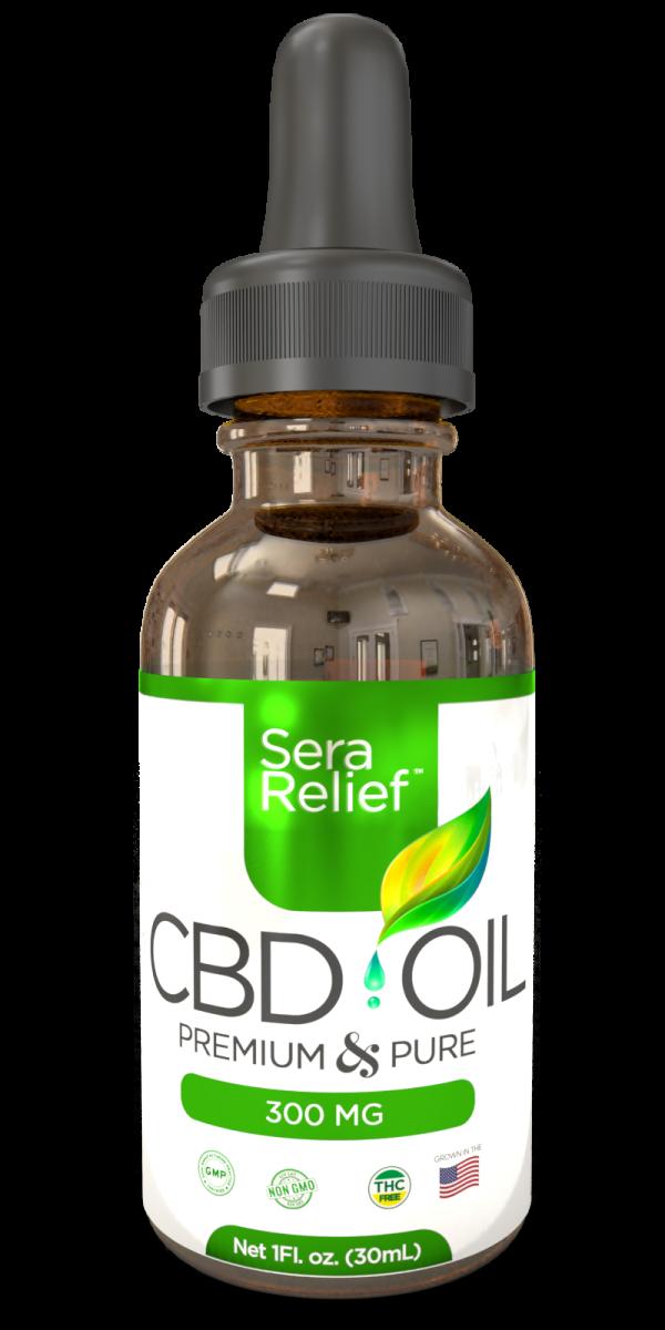 Sera Relief CBD Oil 300mg & 500mg - My CBD Mall