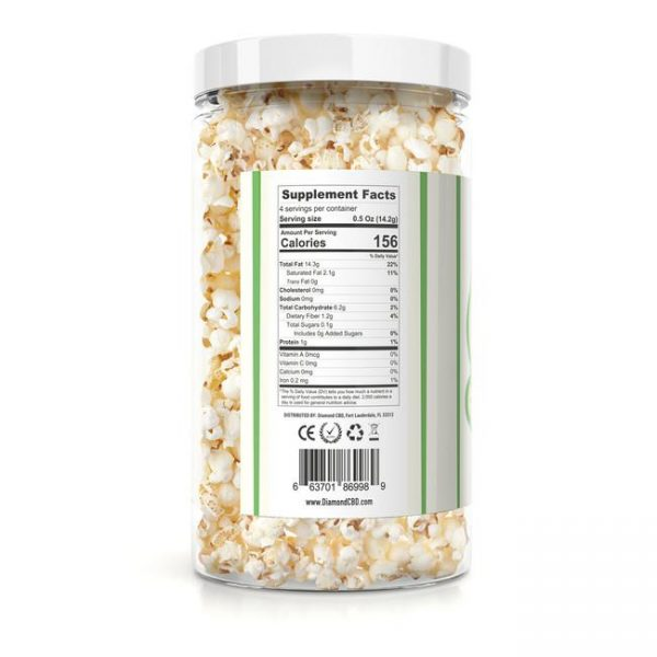 Diamond CBD Popcorn - Spicy - 100mg - My CBD Mall