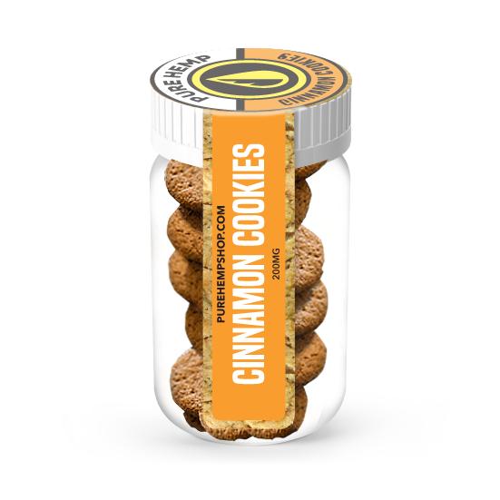 CBD Cinnamon Cookies - 200mg - My CBD Mall