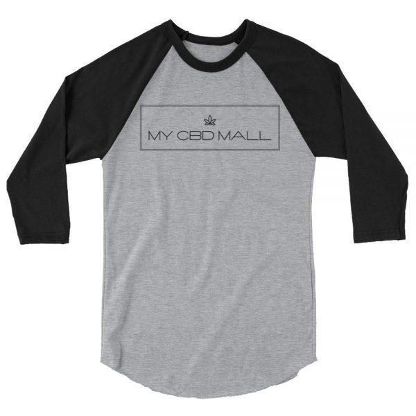 3/4 sleeve raglan shirt - My CBD Mall